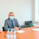 Briefing prasowy w Oddziale PIP w Pile związany z rozprzestrzenianiem wirusa SARS-COV-2
